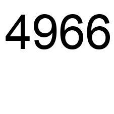 4966 Número La Enciclopedia De Los Números