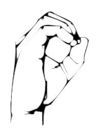 Lenguaje de señas número 108