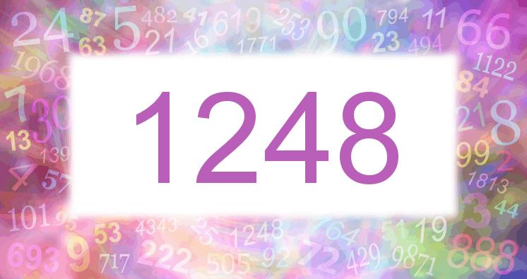 Sueño con el número 1248 imagen lila