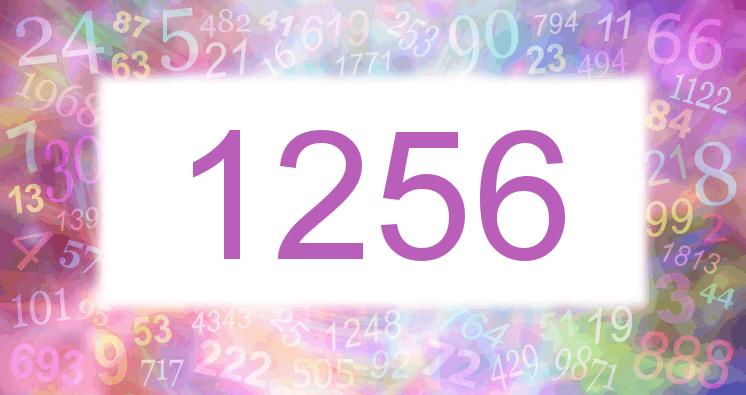 Sueño con el número 1256 imagen lila