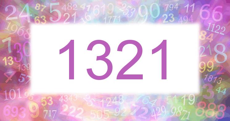 Sueño con el número 1321 imagen lila