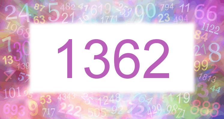 Sueño con el número 1362 imagen lila