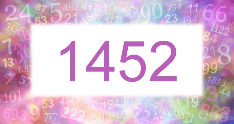 Sueño con el número 1452 imagen lila