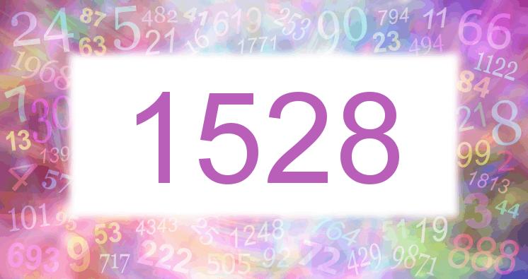 Sueño con el número 1528 imagen lila