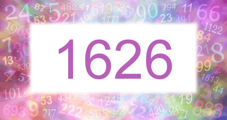 Sueño con el número 1626 imagen lila