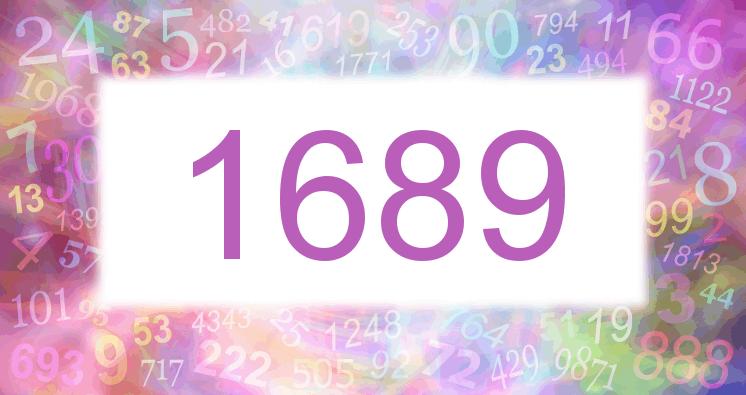 Sueño con el número 1689 imagen lila