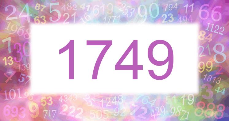 Sueño con el número 1749 imagen lila